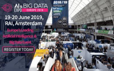Zeenea's data catalog is at the AI & Big Data Expo Europe 2019!