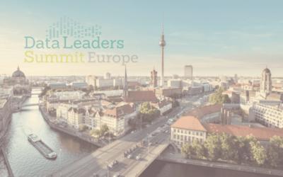 Zeenea's data catalog is at the Data Leaders Summit Europe 2019!