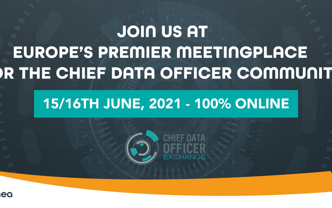 JOIN US AT CHIEF DATA OFFICER EXCHANGE 2021 !