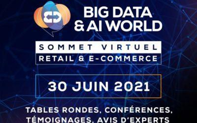 Zeenea sera présente au Big Data & AI World – Sommet Retail & E-commerce, le 30 Juin 2021