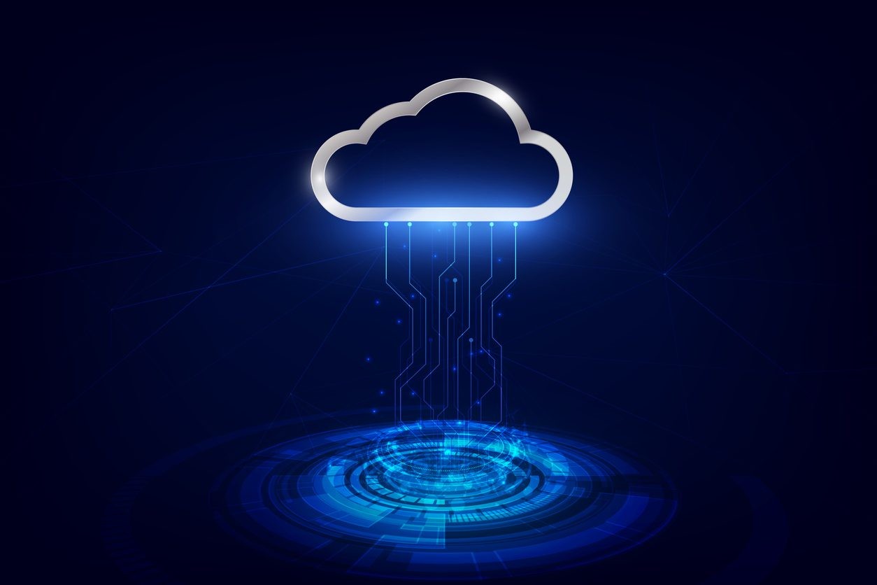 data transfer to cloud technology data storage,futuristic of data transfer,online data storage technology. vector illustration