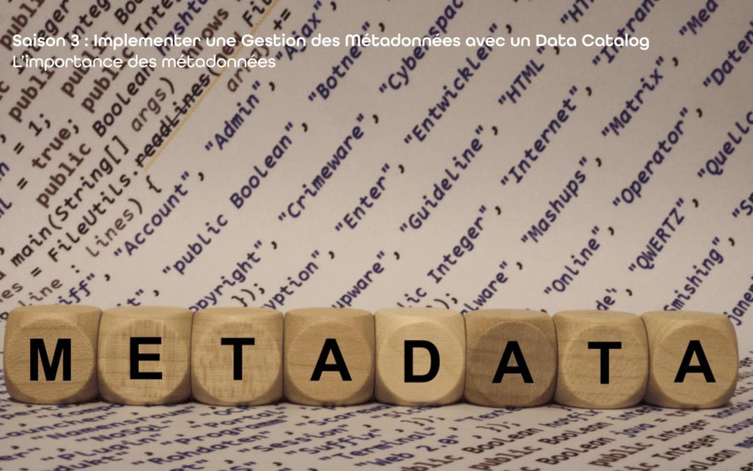 Mettre en place une gouvernance des données efficace avec Zeenea | S03-E01 – L'importance des métadonnées