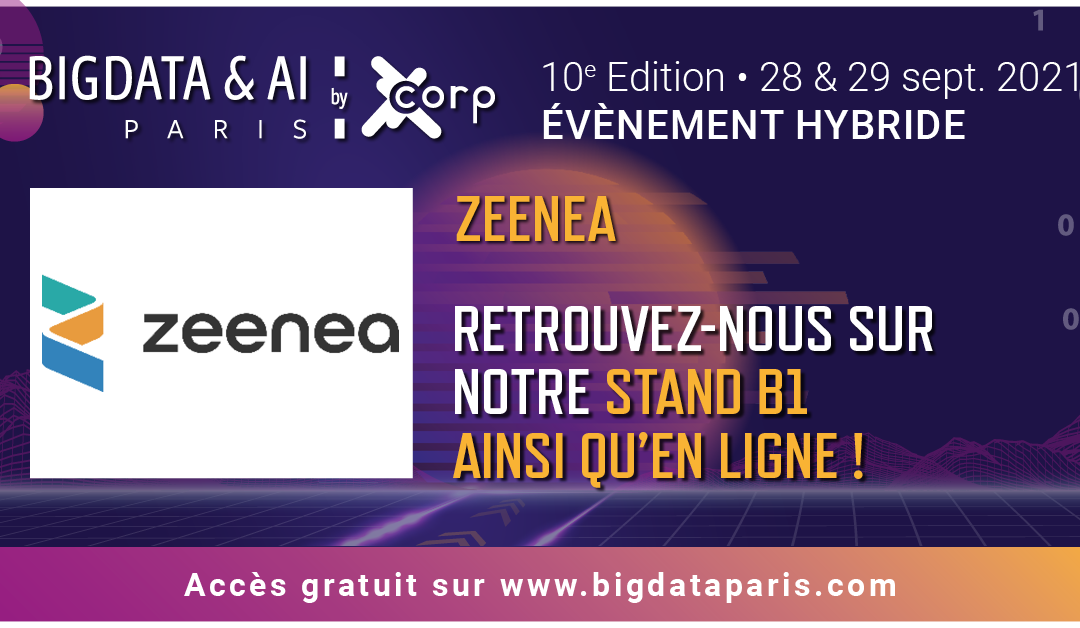 Rencontrez Zeenea au Salon Big Data Paris !