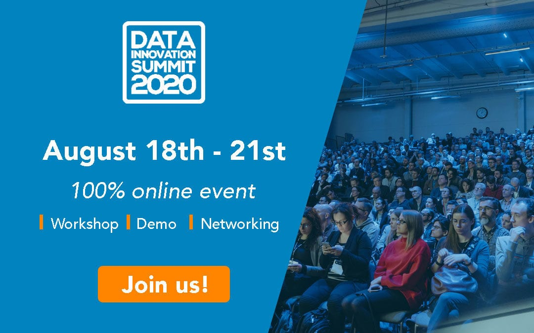 Join Zeenea online at the Data Innovation Summit 2020!