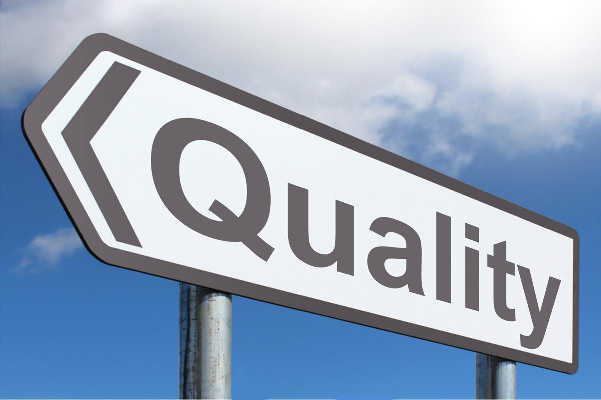 Data quality management: how to improve the quality of your data road sign with quality