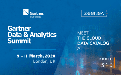 Zeenea sponsorise le Gartner Data & Analytics Summit 2020 !