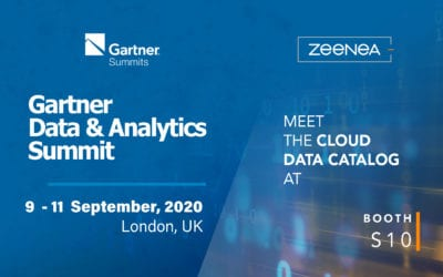 Zeenea is a sponsor at the Gartner Data & Analytics Summit 2020!