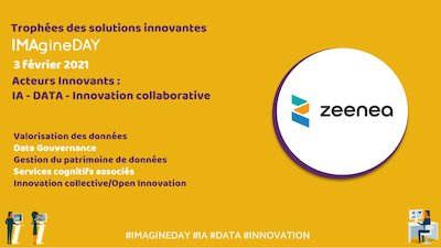 IMAgineDay : Zeenea présente sa solution innovante au Trophée Outillage IA et Data