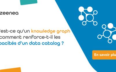 Qu'est-ce qu'un knowledge graph et comment renforce-t-il les capacités d'un data catalog ?