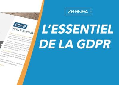 L'essentiel de la GDPR