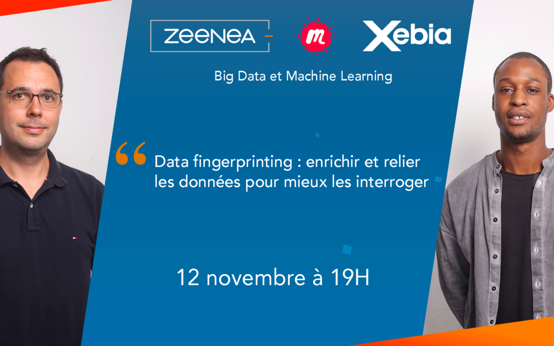 Zeenea a accueilli le Meetup Big Data et Machine Learning !