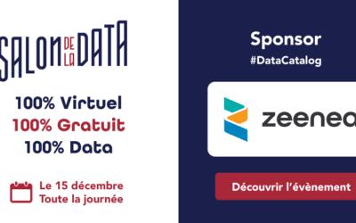 Salon de la Data : Zeenea sponsorise l'évènement organisé pour et par les passionnés de data